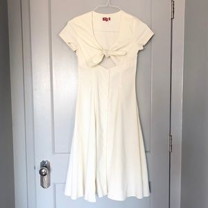STAUD Alice Knotted Dress